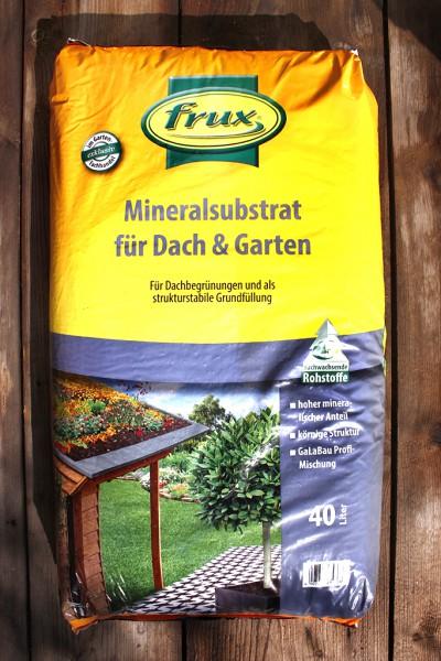 Mineralsubstrat für Dach und Garten