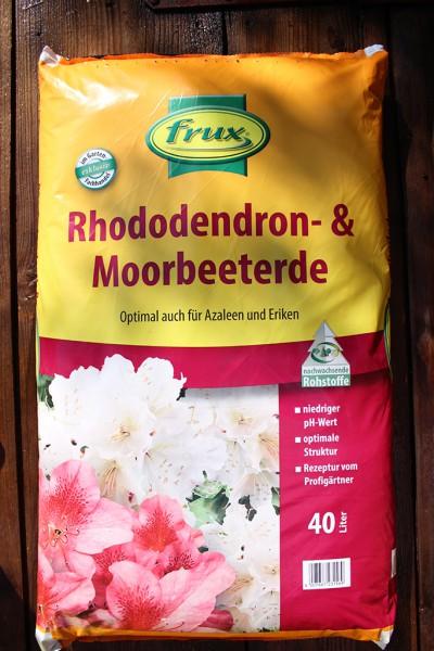 Rhododendron- und Moorbeeterde 40 Liter