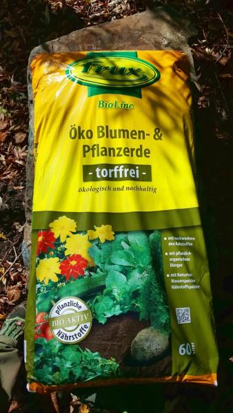 Öko torffreie Blumen- und Pflanzerde